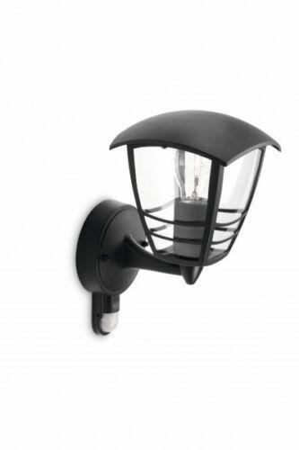 Sensore di movimento Applique da esterno Colore nero Philips myGarden NEW 52694
