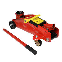 Mini Red 2 Ton 4000 Lbs Hydraulic Floor Jack Lift Tool On Wheels on sale