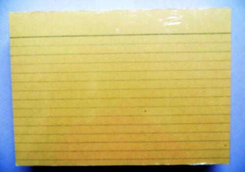 3 x 100 Karteikarten Din A6 liniert  Lernkarten Lernen Lernzettel Notizzettel
