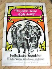 COCKEYED COWBOYS WESTERN Movie Poster DAN BLOCKER NANETTE FABRAY MICKEY ROONEY