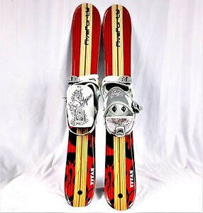 SNOWBLADE-PACKAGE-Five-Forty-90cm-Titan-WIDE-SKI-BLADE-and-SPICE-Bindings