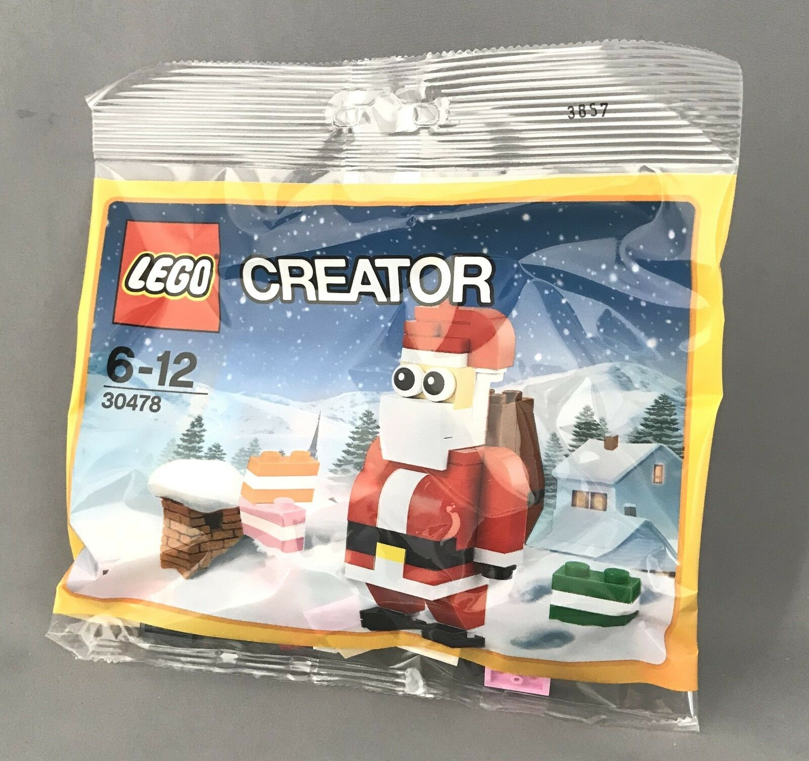 LEGO CREATOR NEW AND SEALED JOLLY SANTA CLAUS POLYBAG 30748 FATHER CHRISTMAS