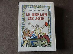 livre-le-brelan-de-joie-marcel-arnac-edition-athena-numerote-1492-MCMXLVI