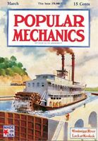 Jigsaw Puzzle Popular Mechanics Cover The Steamboat 500 Piece Made In Usa