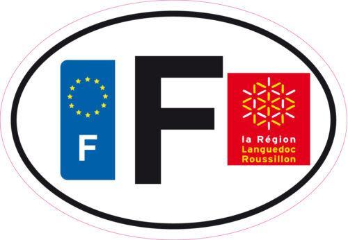 Autocollant sticker département 34 Languedoc Roussillon