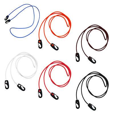 185mm x 5mm Elastic Bungee Cord Shock Rope /& Hook Clips Tie Down Kayak Canoe