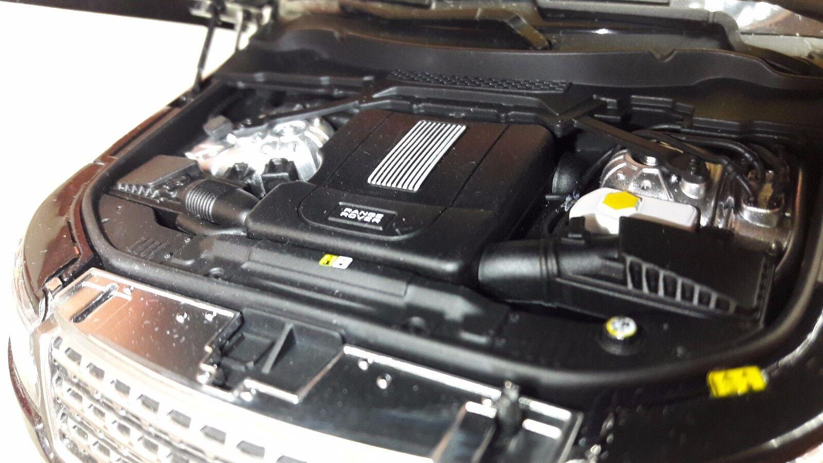 RANGE ROVER L405 TDV8 4.4 V8 blanc blanc blanc VOGUE détaillé modèle moulé 1:18 Welly GT | De Qualité  d93fea