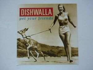 Dishwalla-Pet-Your-Friends-1995-LP-Record-Photo-Flat-12x12-Poster