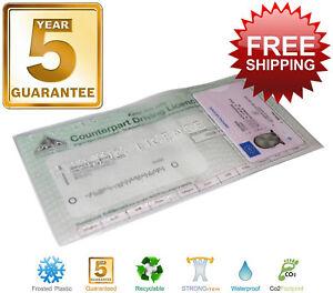Driving-Licence-Wallet-Cover-Holder-Plastic-Vinyl-Protector-DVLA