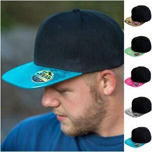 Caricamento dell immagine in corso Cappello-Da-Baseball-piatto-picco- Snapback-Cappello-Rapper- 24a926be8570