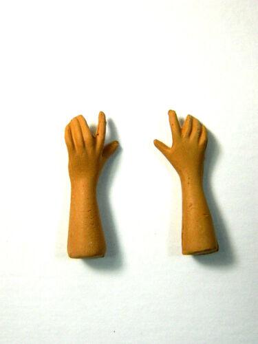 Testa Mani Piedi in Terracotta Cm 12//15 Uomo 10 Pastore Benino Dormiente Presepe