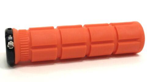 Oury Single-Sided V2 Lock-on Grips Orange