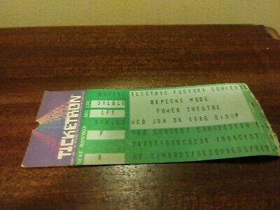 Ebay Depeche Mode Tickets