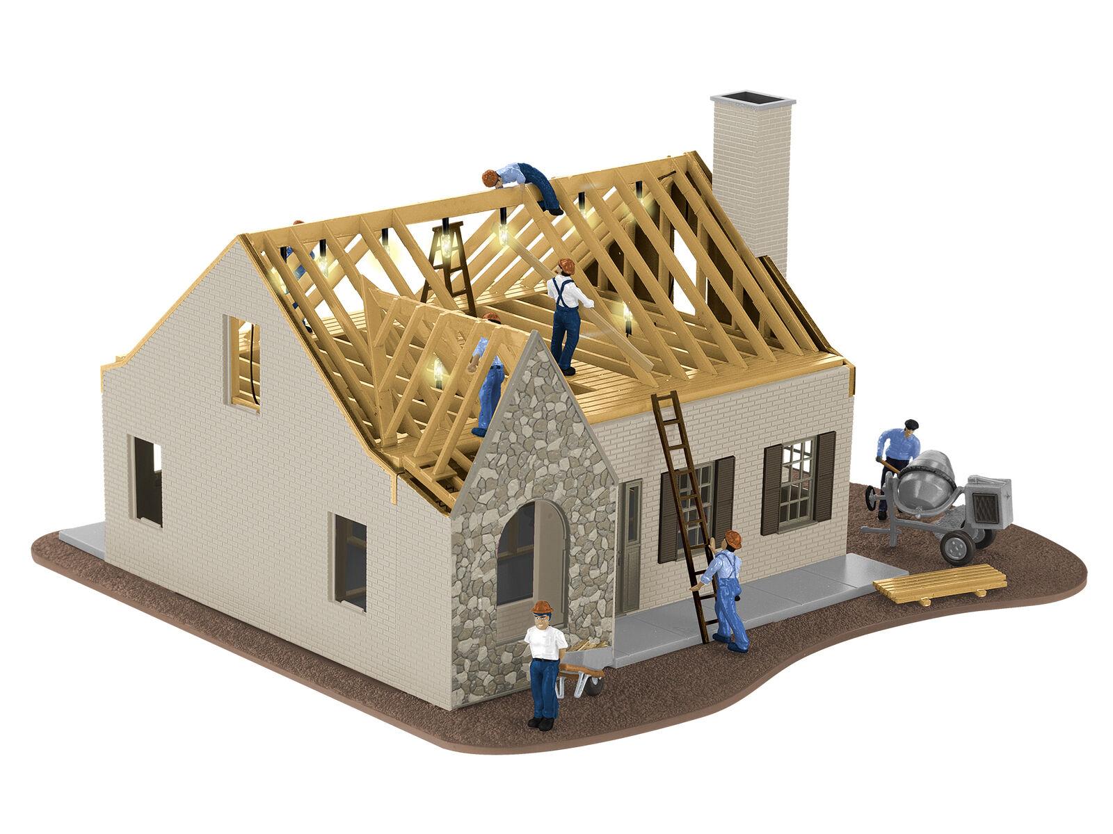 Lionel 684792 o Casa in costruzione BuiltUp costruzionePlug & Play