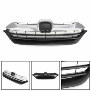 New Front Bumper Hood Upper Replacement Grille Grill Fit For Honda CRV 2017-2018
