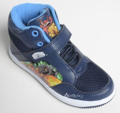 Boys Skylanders Swap Force Hi Top Trainers Shoe Sizes 11-4 New Gift Sypro