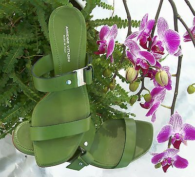 Adrienne Vittadini Green Heels~Size7N~7 N~Drop Dead Gorgeous~Perfect Condition