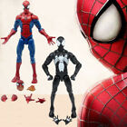 6'' Marvel Pizza Spiderman & Venom Spiderman Action Figure Legends Universe Toy