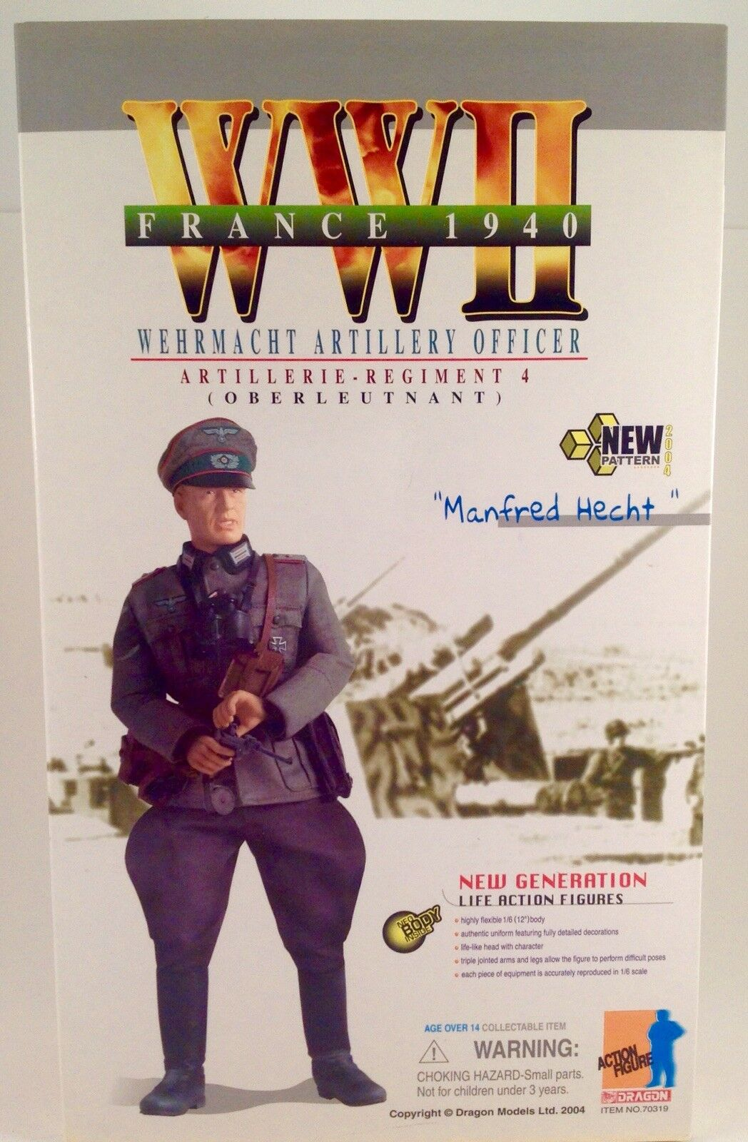Dragon Action Man German WWII Wehrmacht Officer Manfred Hecht France 1940 MINT