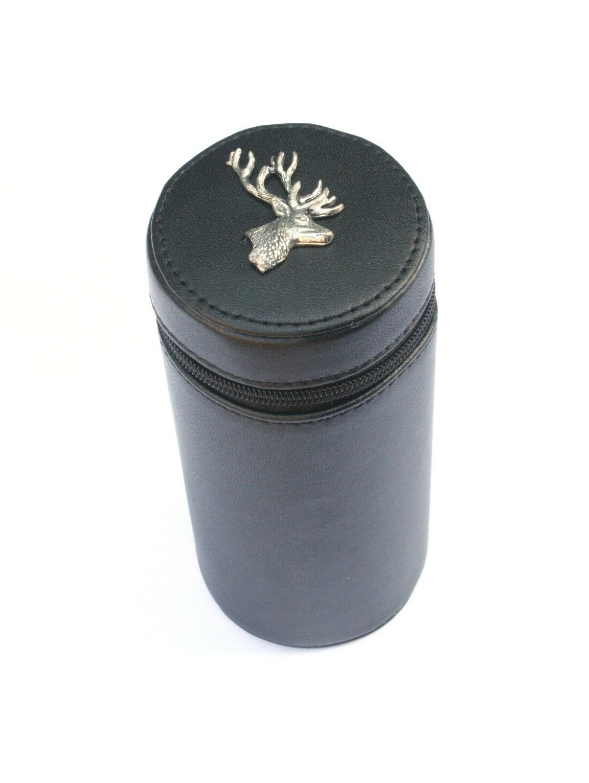 Stag Head Shooting Peg Position Finder Numberojo Cups 1-10 negro Leather Case