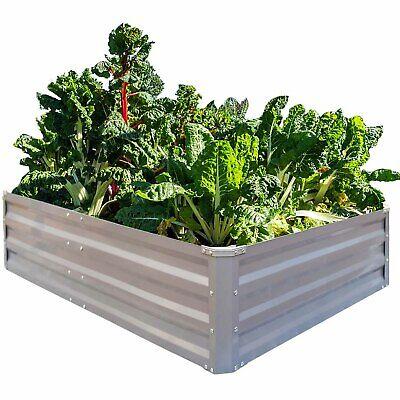 Galvanized Raised Garden Beds Vegetables Metal Planter