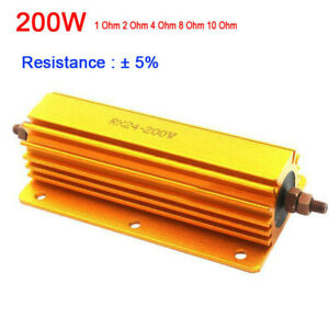 2pc 8ohm 8R 200W Watt Power Metal resistor for tube amp test dummy Load
