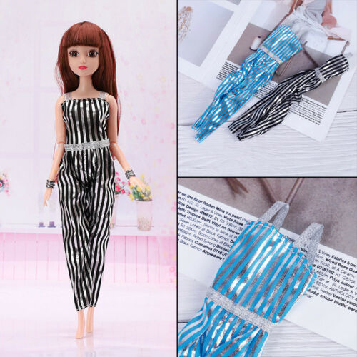 Mini short striped leggings pants doll accessories clothes doll toy TO ~W