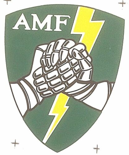 NATO MILITARY WATER SLIDE TRANSFER AMF NOS ALLIED COMMAND EUROPE MOBILE FORCE