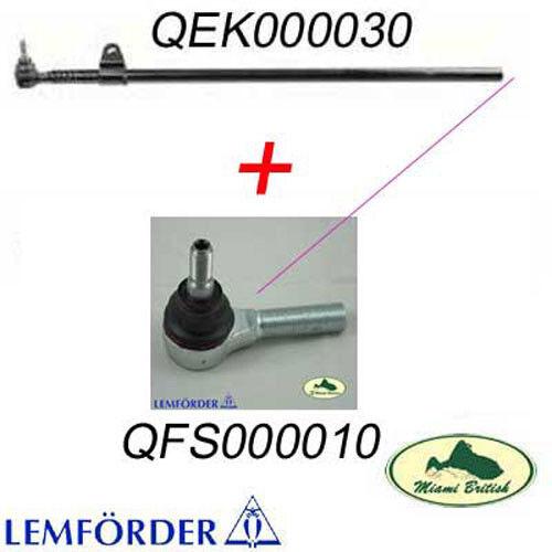 LAND ROVER STEERING BAR DRAG LINK TUBE W// TIE ROD DISCO 2 II QEK000030 LEMFORDER