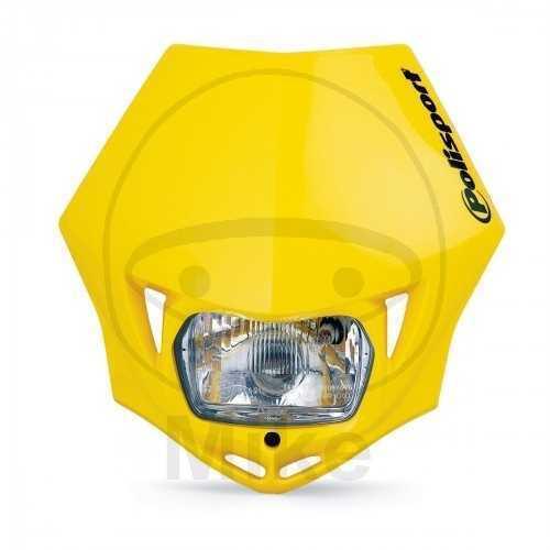 Máscara de la Lámpara de Deporte Político Mmx Amarillo