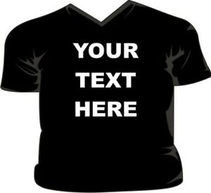 Your-Text-Here-Design-your-own-V-Neck-T-Shirt