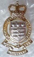 Staybrite Royal Army Ordnance Corps Regimental Collar Badge QC- Anodised
