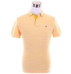 Tommy-Hilfiger-Men-Short-Sleeve-Custom-Fit-Pique-Polo-Shirt-Free-0-Ship