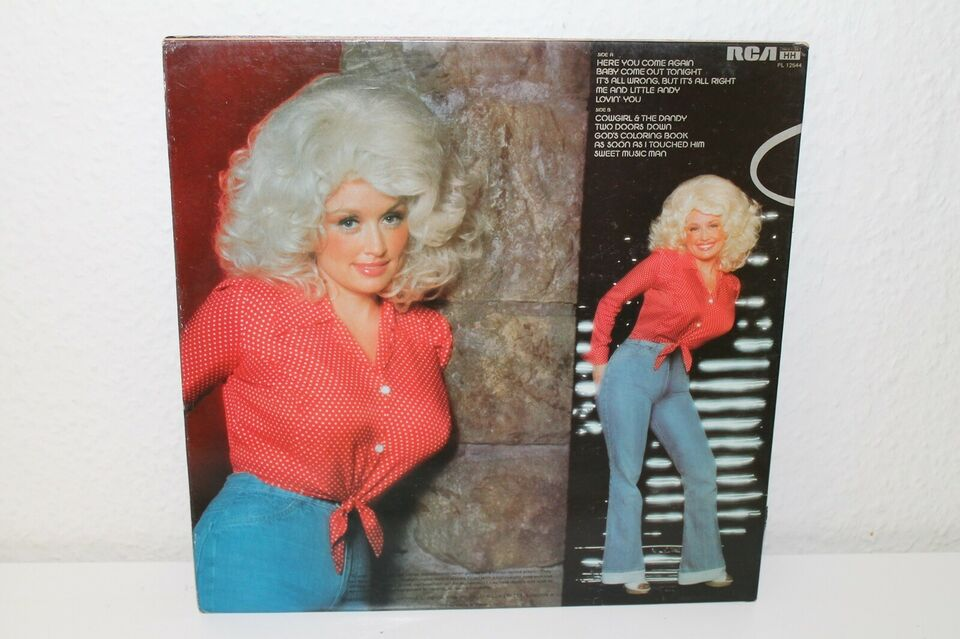 LP, Dolly Parton, Here You Come Again