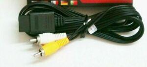 STEREO-SNES-RCA-AV-A-V-TV-Audio-Video-Stereo-Composite-Cable-For-Super-Nintendo