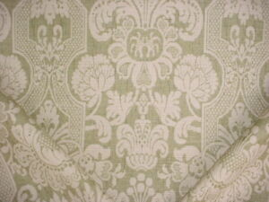 6-3-4Y-Lee-Jofa-990132-Croome-Damask-Olive-Printed-Linen-Upholstery-Fabric