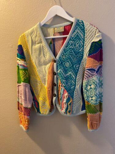 Vintage COOGI Australia Multi-Color Cardigan Sweat