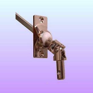 Kurbelgelenk-Gelenkplatte-Gelenlager-22x52-4-kant-8mm-Rolladen-Zapfen-12mm