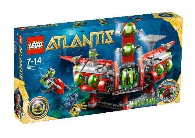 LEGO Atlantis Unterwasser-Hauptquartier (8077). Neu & OVP. Lego 8077.