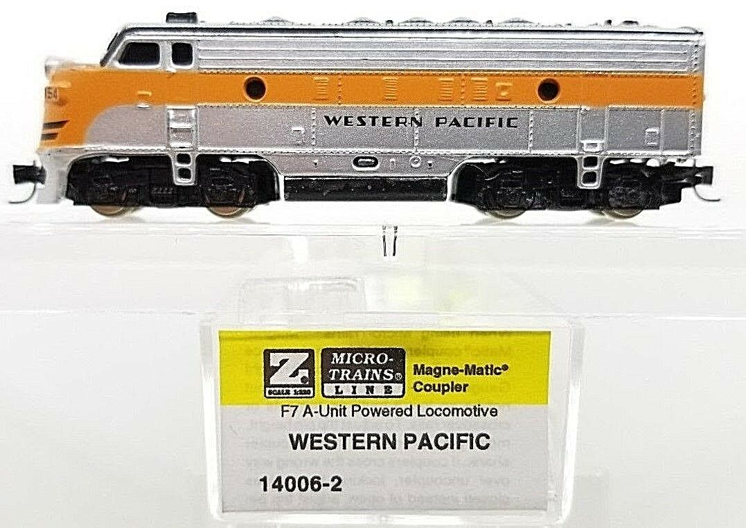 MTL Z 14006-2 F7 WP Powerosso A-Unit Locomotive  MTL couplers   Tested