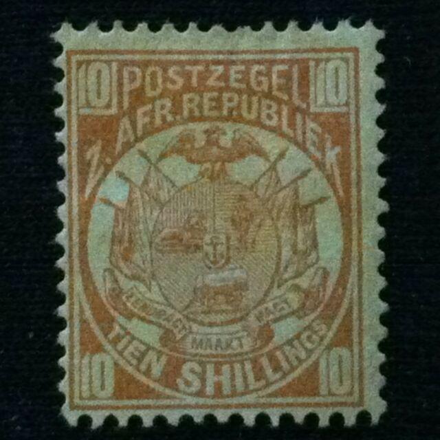 Transvaal  SC #134  Mint HH  1885