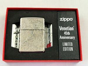 ZIPPO-Armor-Case-Venetian-45th-Feuerzeug-Neuheit-2020-60004949