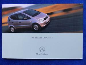 Mercedes-Benz-A-Klasse-A190-Limousinen-W168-Prospekt-Brochure-08-2000