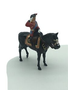 William Britain Hollow Cast Collection H.M. The Queen on Burmese 40197