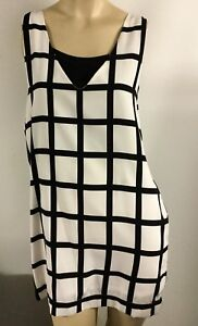 Cooper-Check-Checkered-Racing-Dress-Size-14-16