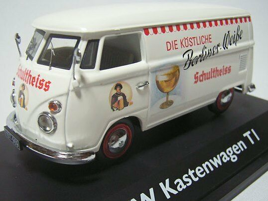 SUPER RARE SCHUCO VW T1 Van Schultheiss Berlin 1 43 obsolète LTD EDT 1 500