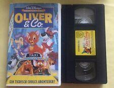 OLIVER & CO VHS - Walt Disneys Meisterwerk Rarität