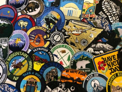 Sew-on Hiking Souvenir Travel Rocky Mountains Colorado Embroidered Patch Iron