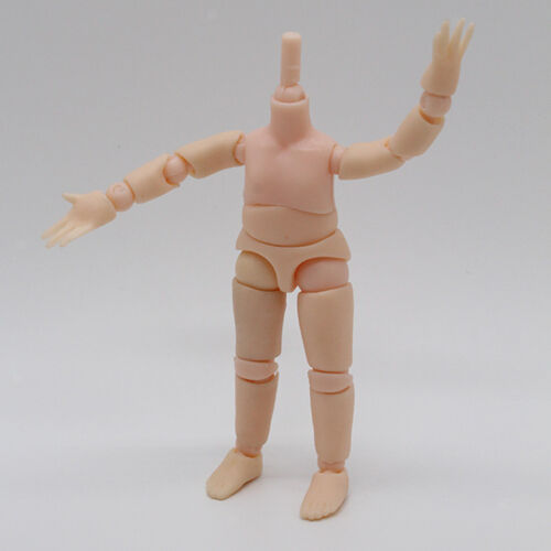 Movable Mini Nude Parts Joints For 14cm OB11 Dolls Kid Body Painting Figures