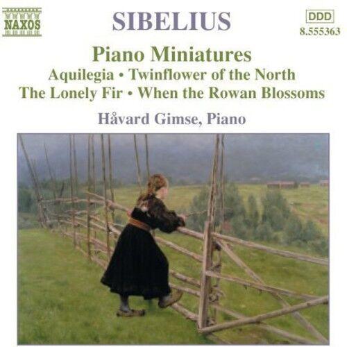 Havard Gimse, J. Sibelius - Piano Music 4 [New CD]